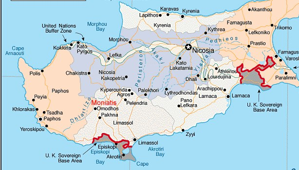 Moniatis Location Cyprus Villa Holidays Villa or Holiday Apartment